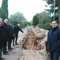 Radovi na izgradnji sanitarne kanalizacije u naselju Pod Sv Mikulj